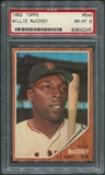 1962 Topps Baseball #544 Willie McCovey PSA 8 (NM-MT) *2245