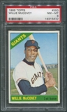 1966 Topps Baseball #550 Willie McCovey PSA 8 (NM-MT) *5632