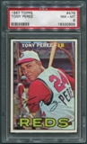 1967 Topps Baseball #476 Tony Perez PSA 8 (NM-MT) *0558