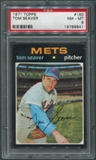 1971 Topps Baseball #160 Tom Seaver PSA 8 (NM-MT) *9841