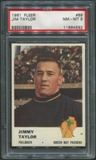 1961 Fleer Football #89 Jim Taylor PSA 8 (NM-MT) *4592