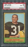 1963 Topps Football #87 Jim Taylor PSA 8 (NM-MT) *9927