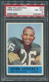 1964 Philadelphia Football #71 Herb Adderley Rookie PSA 8 (NM-MT) *8574