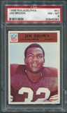 1966 Philadelphia Football #41 Jim Brown PSA 8 (NM-MT) *5382