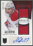 2013-14 Panini Rookie Anthology #160 Alex Galchenyuk Rookie Jersey Auto #202/249