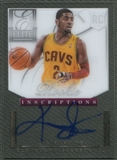 2012/13 Elite Series #8 Kyrie Irving Rookie Inscriptions Auto