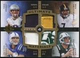 2007 Ultimate Collection Quad Patch Tom Brady Peyton Manning Ben Roethlisberger Chad Pennington 2/10