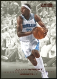 2008/09 Upper Deck SkyBox Ruby #107 Julian Wright /50