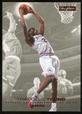 2008/09 Upper Deck SkyBox Ruby #125 Thaddeus Young /50