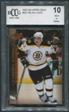2007/08 Upper Deck #207 Milan Lucic Young Guns Rookie BCCG 10