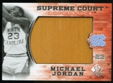 2010/11 Upper Deck SP Authentic Michael Jordan Supreme Court Floor #15 Michael Jordan Uncommon