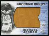 2010/11 Upper Deck SP Authentic Michael Jordan Supreme Court Floor #6 Michael Jordan Common