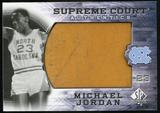 2010/11 Upper Deck SP Authentic Michael Jordan Supreme Court Floor #22 Michael Jordan Rare