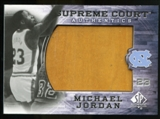2010/11 Upper Deck SP Authentic Michael Jordan Supreme Court Floor #24 Michael Jordan Rare