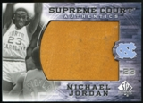 2010/11 Upper Deck SP Authentic Michael Jordan Supreme Court Floor #25 Michael Jordan Rare