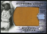2010/11 Upper Deck SP Authentic Michael Jordan Supreme Court Floor #27 Michael Jordan Rare