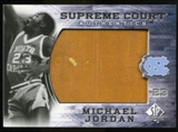 2010/11 Upper Deck SP Authentic Michael Jordan Supreme Court Floor #29 Michael Jordan Rare