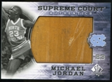 2010/11 Upper Deck SP Authentic Michael Jordan Supreme Court Floor #30 Michael Jordan Rare