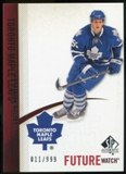 2010/11 Upper Deck SP Authentic #215 Korbinian Holzer RC /999