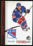 2010/11 Upper Deck SP Authentic #222 Mats Zuccarello-Aasen RC /999