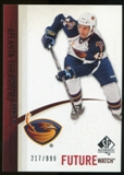 2010/11 Upper Deck SP Authentic #225 Patrice Cormier RC /999