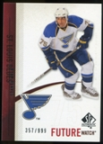2010/11 Upper Deck SP Authentic #243 Ryan Reaves RC /999