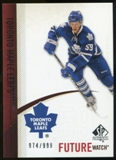 2010/11 Upper Deck SP Authentic #245 Keith Aulie RC /999