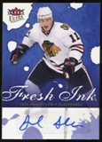 2009/10 Upper Deck Ultra Fresh Ink #FIJS Jack Skille Autograph