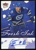 2009/10 Upper Deck Ultra Fresh Ink #FISB Steve Bernier Autograph
