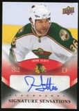 2010/11 Upper Deck Signature Sensations #SSJS John Scott Autograph