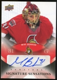 2010/11 Upper Deck Signature Sensations #SSMB Mike Brodeur Autograph