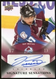 2010/11 Upper Deck Signature Sensations #SSRM Ray Macias Autograph