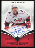 2010/11 Upper Deck Ultimate Collection #107 Jamie McBain RC Autograph /299