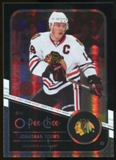 2011/12 Upper Deck O-Pee-Chee Black Rainbow #29 Jonathan Toews /100