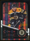 2011/12 Upper Deck O-Pee-Chee Black Rainbow #158 David Krejci /100