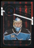 2011/12 Upper Deck O-Pee-Chee Black Rainbow #557 Alex Stalock /100