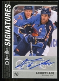 2011/12 Upper Deck O-Pee-Chee Signatures #OSAL Andrew Ladd D Autograph