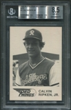 1981 Rochester Red Wings WTF #1 Cal Ripken Jr. Rookie BGS 8.5 (NM-MT+) *6171