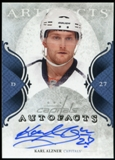 2011/12 Upper Deck Artifacts Autofacts #AAL Karl Alzner F Autograph