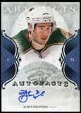 2011/12 Upper Deck Artifacts Autofacts #AJS James Sheppard F Autograph