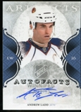 2011/12 Upper Deck Artifacts Autofacts #ALA Andrew Ladd F Autograph