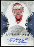 2011/12 Upper Deck Artifacts Autofacts #AMC Thomas McCollum F Autograph