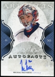 2011/12 Upper Deck Artifacts Autofacts #AMN Michal Neuvirth E Autograph