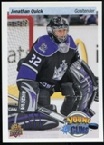 2014/15 Upper Deck 25th Anniversary Retro Young Guns #UD25-JQ Jonathan Quick Toronto Fall Expo
