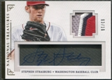 2014 Panini National Treasures #90 Stephen Strasburg Treasure Signature Patch Auto #03/10