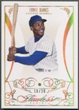 2014 Panini National Treasures #27 Ernie Banks Flawless Diamond #10/20