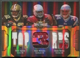 2011 Topps Triple Threads #TTRC28 Mark Ingram Ryan Williams Shane Vereen Patch #1/1