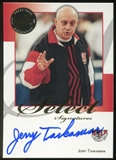 2008/09 Press Pass Legends Select Signatures #JT Jerry Tarkanian Autograph