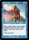 Magic the Gathering Odyssey Single Standstill - SLIGHT PLAY (SP)