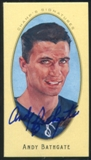 2011/12 Upper Deck Parkhurst Champions Champ's Mini Signatures #9 Andy Bathgate Autograph